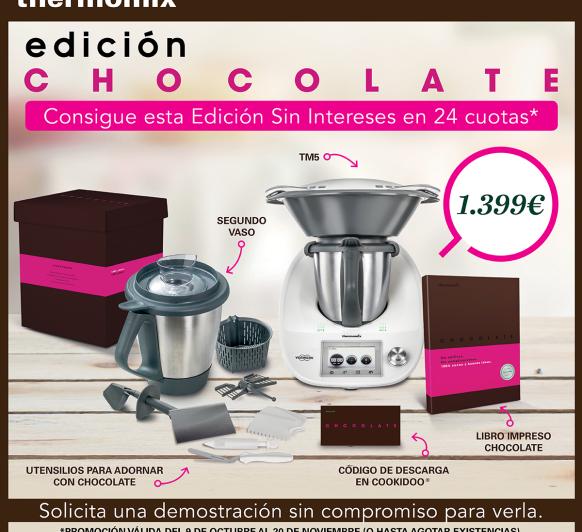 EDICION CHOCOLATE 0% DE INTERES DECRECIENTE
