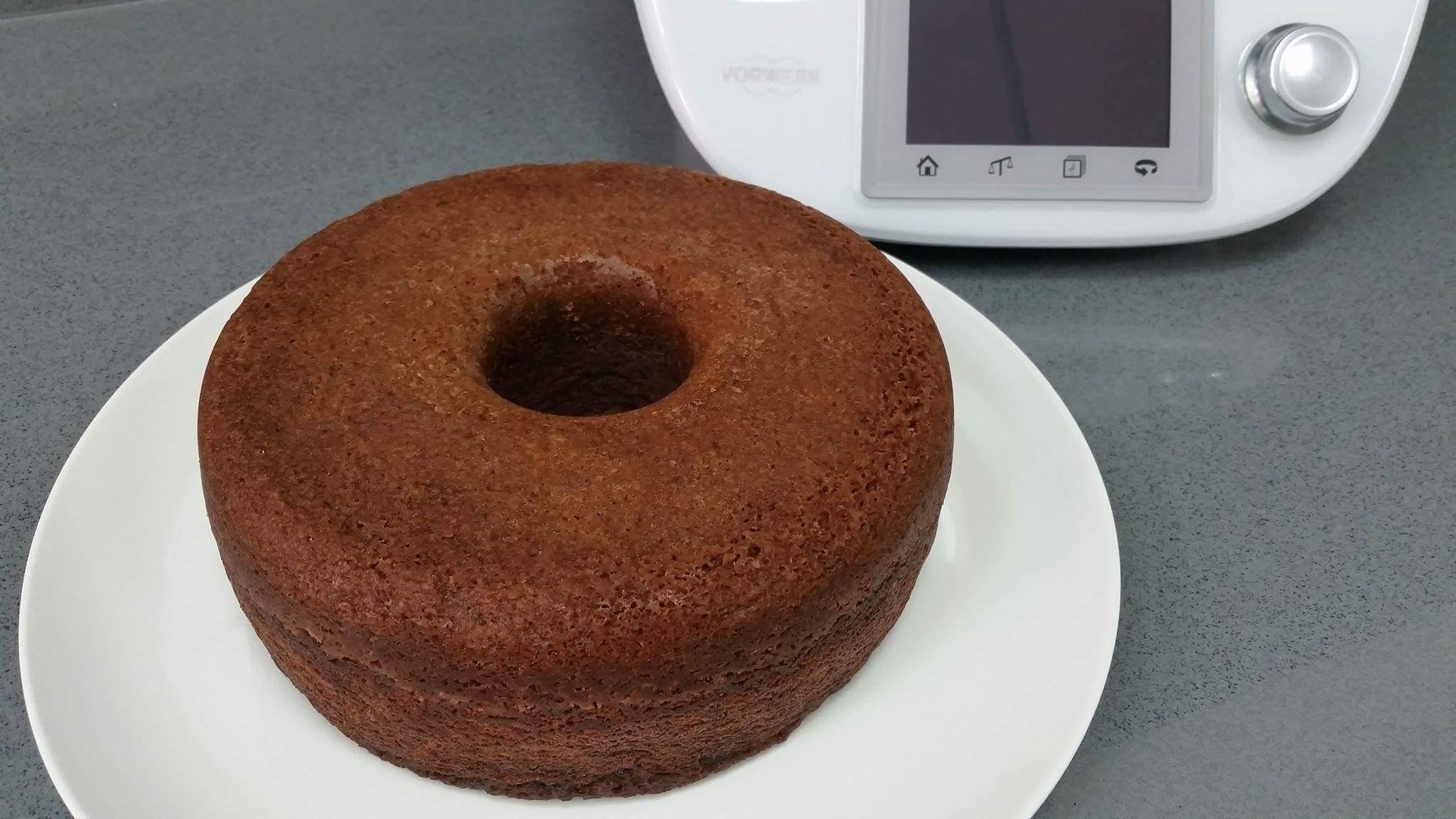Bizcocho de cacao al vapor con Thermomix®