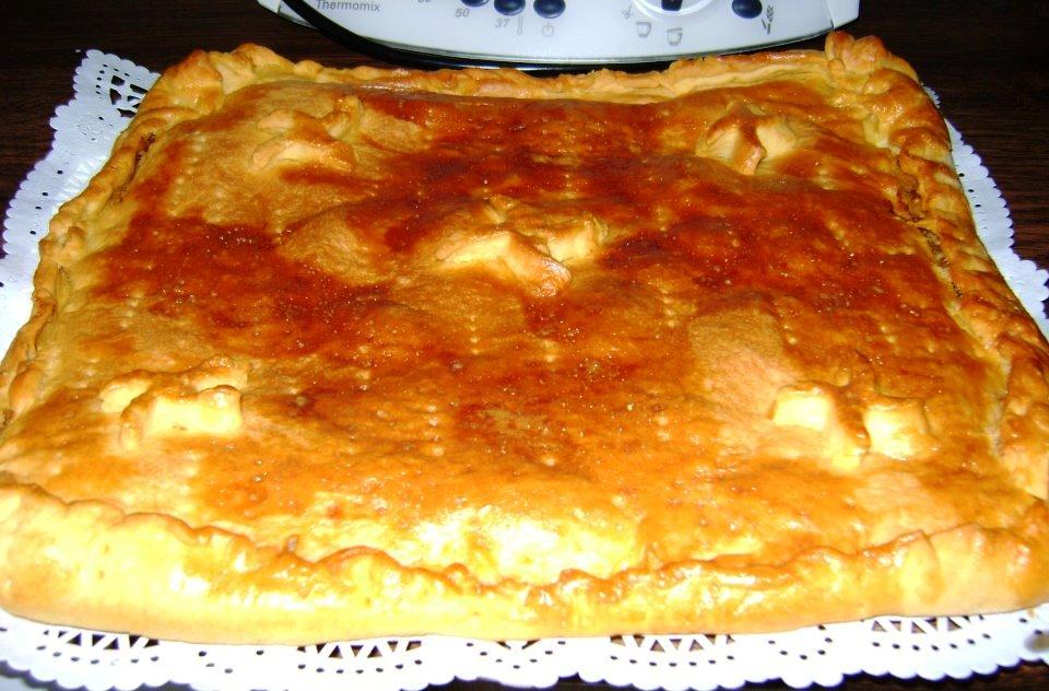 Empanada de boquerones (sin levadura)