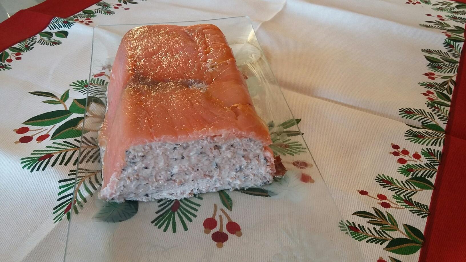 Paté de jamón y salmón ahumado
