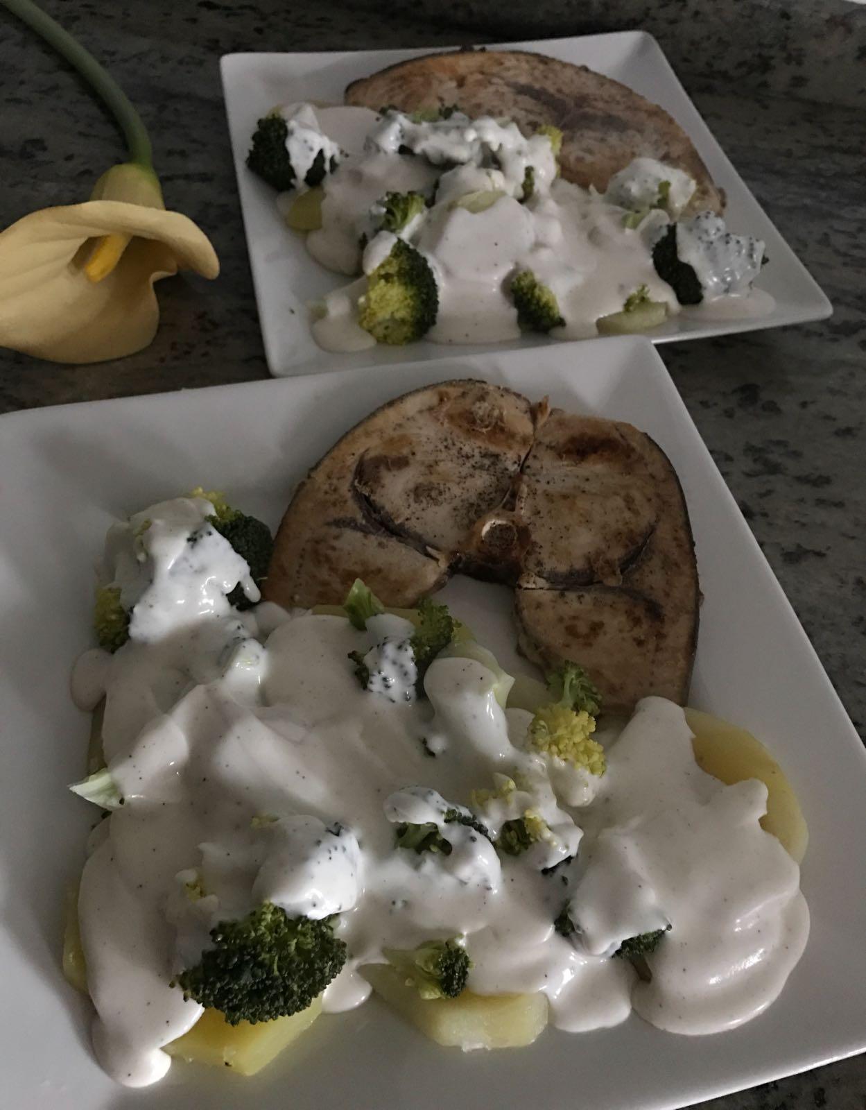 Brócoli y patatas a la crema ligera con Thermomix®