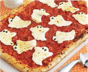 PIZZA FANTASMA ESPECIAL HALLOWEEN