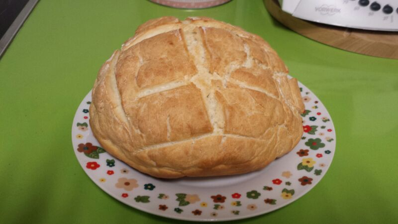 PAN RAPIDO CON Thermomix®