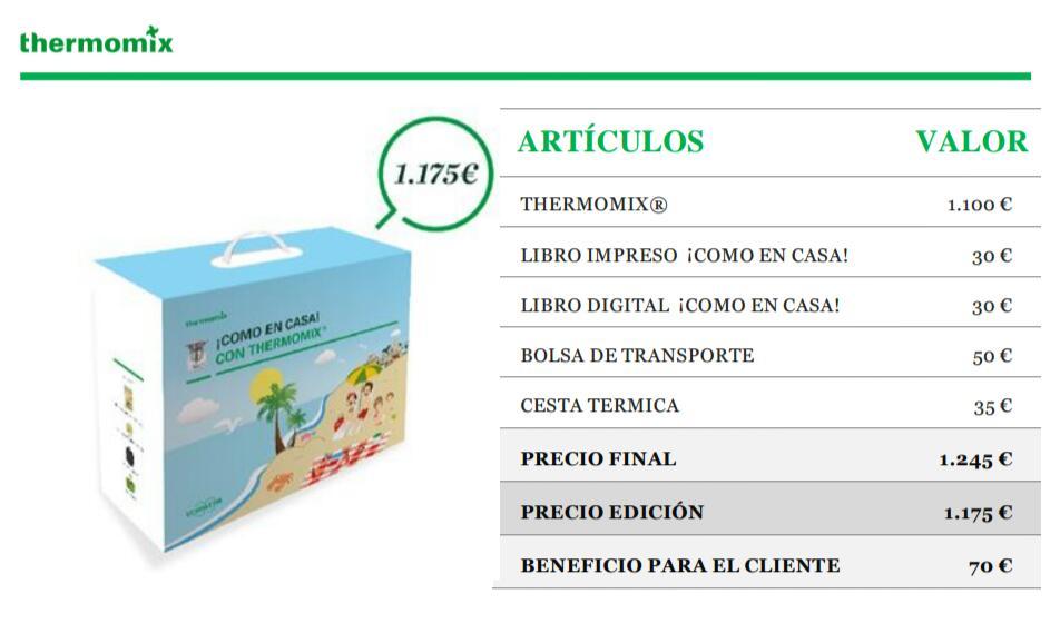 Edición ¡Como en casa! con Thermomix®