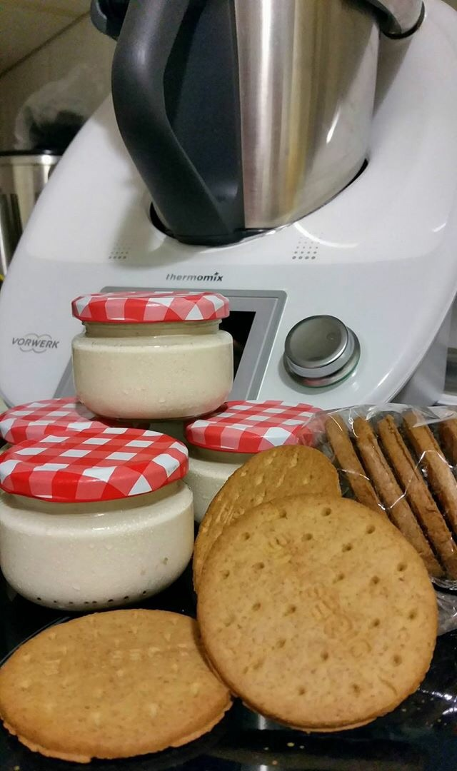 YOGUR DE GALLETAS CON Thermomix®