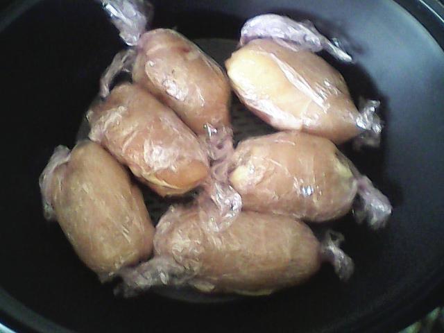 Rollitos de pollo con salsa agridulce con Thermomix®