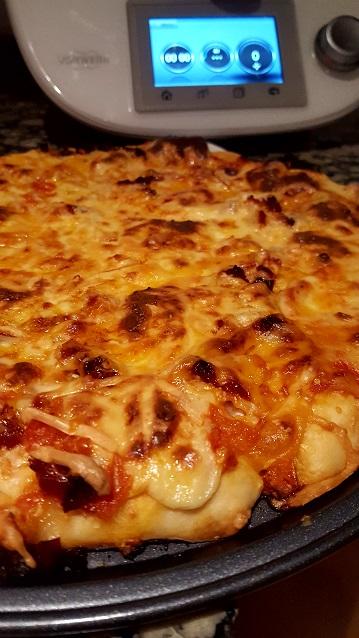 Pizza Diavola con Thermomix® .