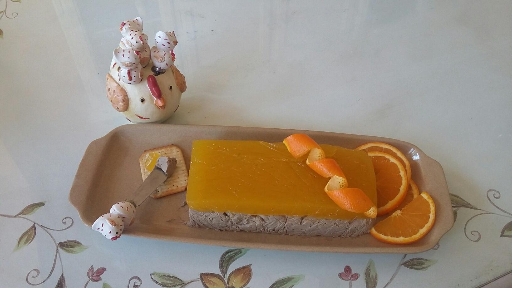 Paté de higadito a la naranja