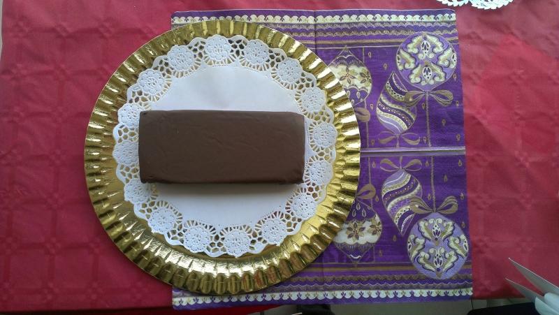 TURRON DE CHOCOLATE CON KIKOS