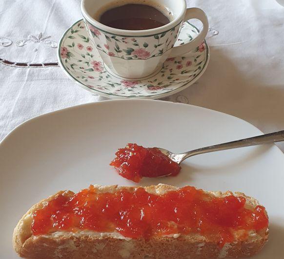 Tomates en dulce (la receta de la abuela)