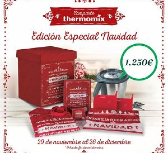 EDICION NAVIDAD CON Thermomix®