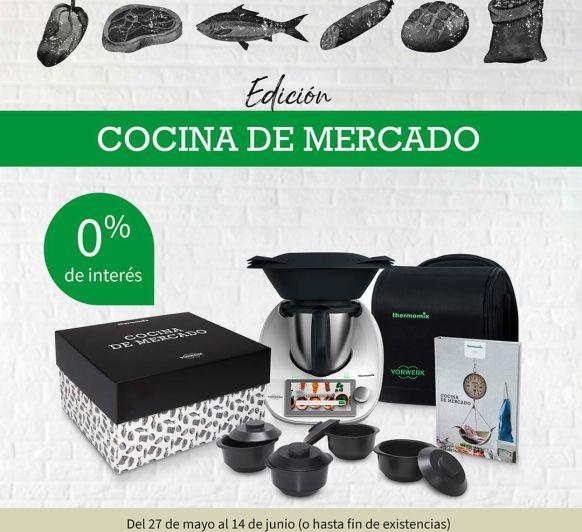 EDICIÓN ''COCINA DE MERCADO'' SIN INTERESES