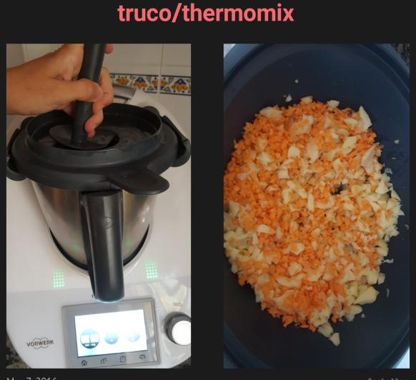 Hacer ensaladilla al vapor rápida con Thermomix® .