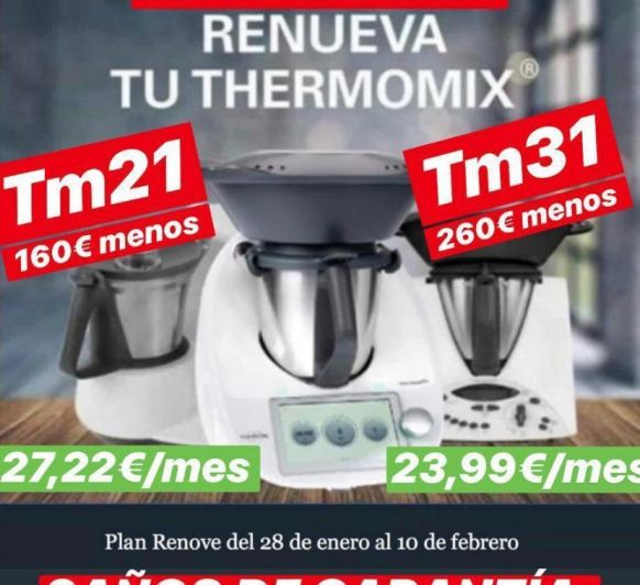 PLAN RENOVE DE Thermomix® 31 Y 21