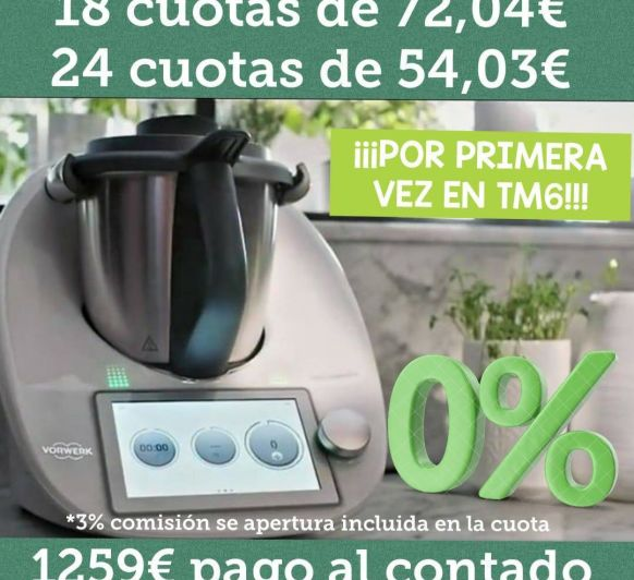0% INTERES CON Thermomix®