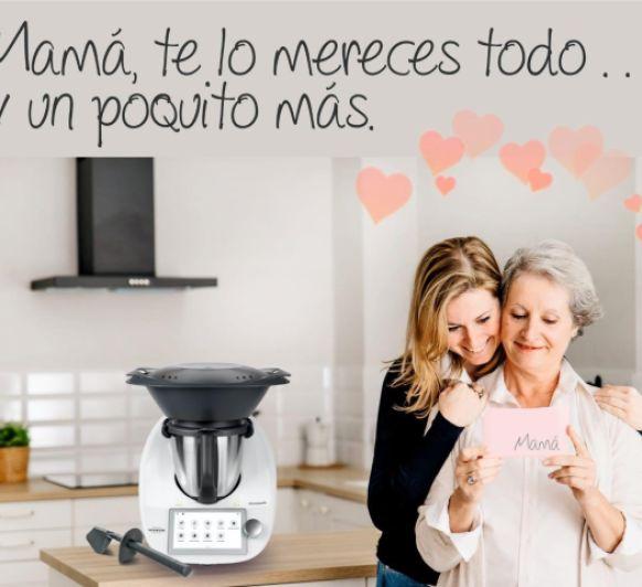 La cocina no es solo de mamá, con Thermomix® todos cocinamos. Ampliamos Interés 0%
