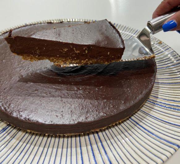 TARTA DE NUTELLA SALUDABLE