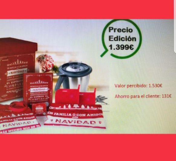 Edición Navidad. Sólo 2000 unidades para todo España