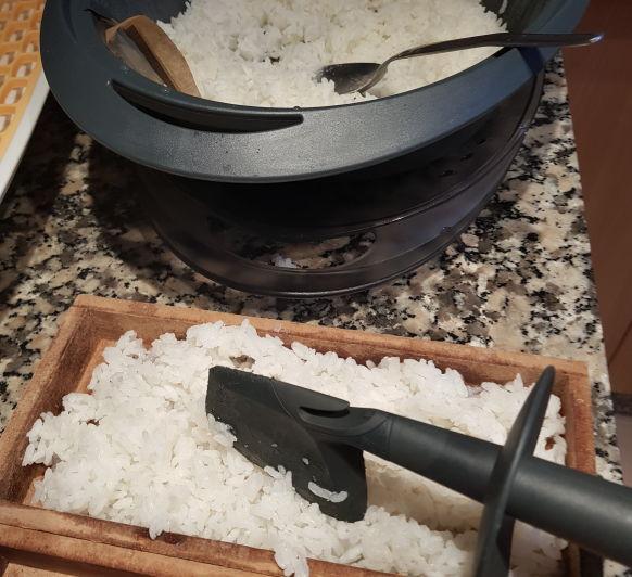 Arroz para sushi en Thermomix®