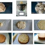 Milhojas de crema y toffee